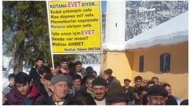 KOTANA SES VERDİ