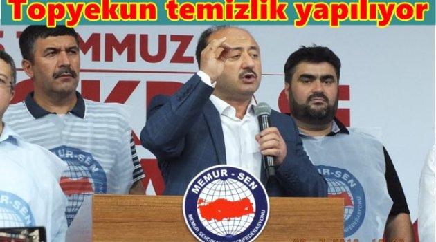MEMUR SEN DEMOKRASİ MEYDANLARINDA