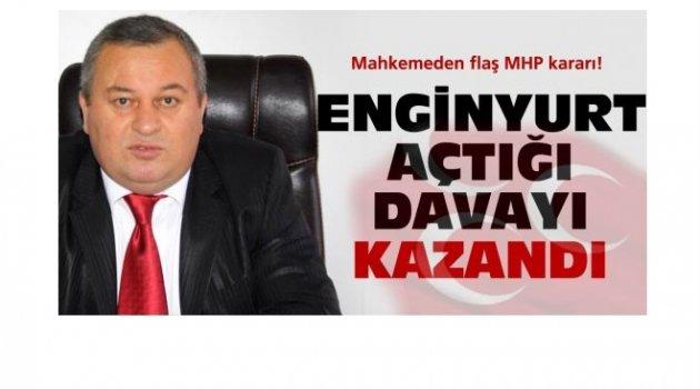 MHP'DE DENGELERİ CEMAL ENGİNYURT DEĞİŞTİRDİ