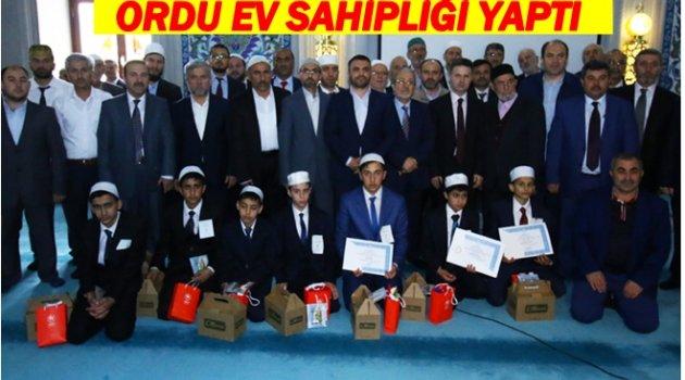 TÜRKİYE FİNALLERİ ORDU'DA GERÇEKLEŞTİ