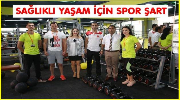ZEN FİTNESS LİFE CLUB AÇILDI