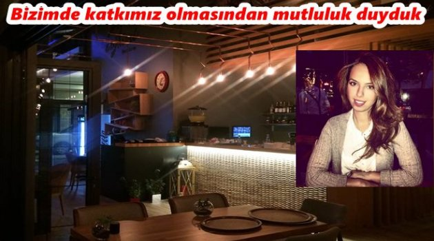ZEYTUNİ CAFE RESTAURANT'A MARİTSA İÇ MİMARLIK İMZASI
