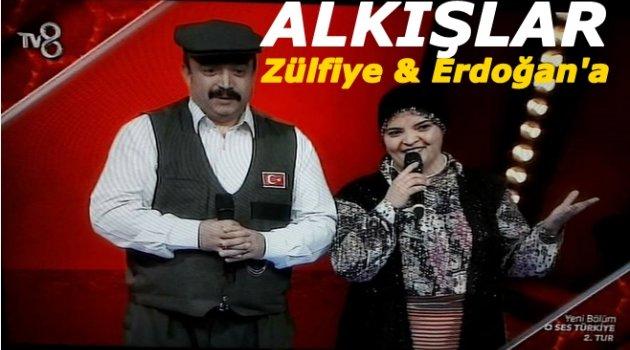 ZÜLFİYE & ERDOĞAN 2. TURU GEÇTİ