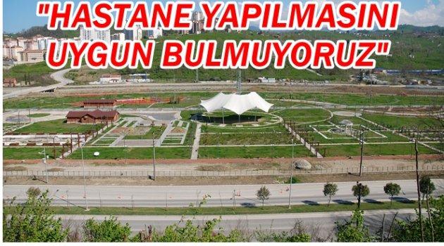 ORÇEV'DEN BOTANİK PARK TEPKİSİ