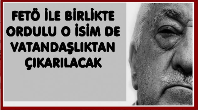 ORDULU FİRARİ FETÖ'CÜYE ŞOK!