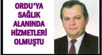 DR. ÇETİN YENER YAŞAMINI KAYBETTİ