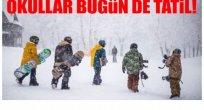 ORDU'DA OKULLAR  TATİL