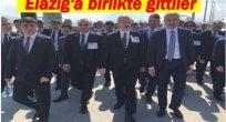 YILMAZ SOYLU'YA BİRLİKTE  TÖRENE KATILDI