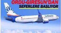 SUNXEXPRESS ORDU-GİRESUN'DAN UÇACAK