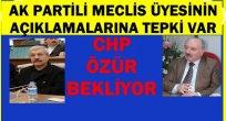 AK PARTİ İLE CHP ARASINDA YENİ POLEMİK