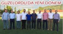 GÜZELORDU'DA YÖNETİM GÖREV BÖLÜMÜ YAPTI