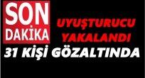 İSTANBUL'DAN ORDU'YA UYUŞTURUCU GETİREN ŞEBEKE ÇÖKERTİLDİ