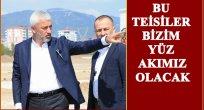 KARŞIYAKA'DA SPOR TESİSLERİ YÜKSELİYOR