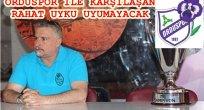 ORDUSPOR'DA PERİLER HAKAN YİĞİT'E EMANET