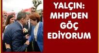 RIDVAN YALÇIN MHP'DEN İSTİFA ETTİ