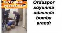 TUNCELİ'DE ORDUSPOR'UN SOYUNMA ODASINA BOMBA MI KONDU?