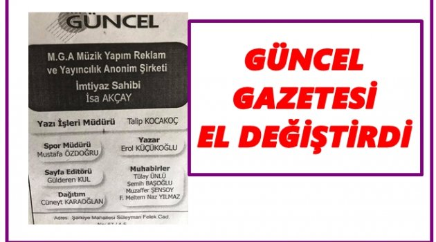 TV 52 YAZILI BASINA DA GİRDİ