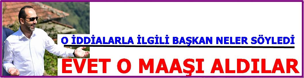 """BAŞKAN HABERLERLE İLGİLİ """"YALAN"""" DEMEDİ"""