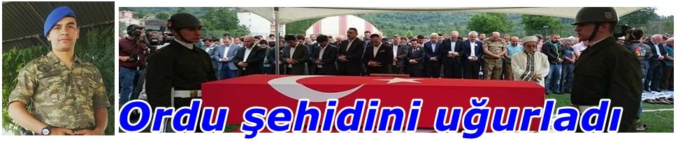 ŞEHİT ONUR TİKEN TOPRAĞA VERİLDİ